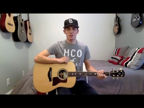 Break Up With Him Guitar Lesson