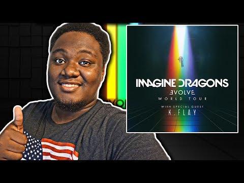 IMAGINE DRAGONS - EVOLVE [Deluxe Edition] Album REVIEW/REACTION!!!