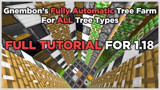 Fully Automatic Tree Farm - FULL TUTORIAL (1.14)