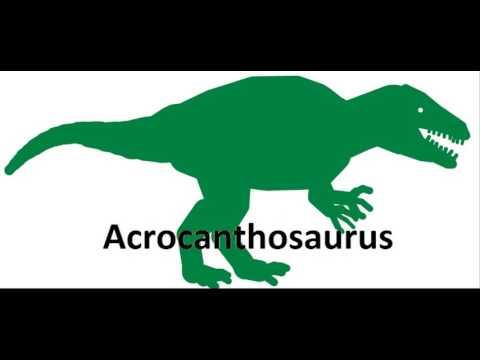 Acrocanthosaurus Vs Dryptosaurus
