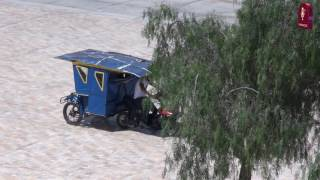 Tema: Sanmarquino presenta Mototaxi Solar