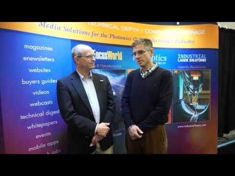 SPIE Photonics West 2016: Interview with Loucas Tsakalakos, GE Global Research