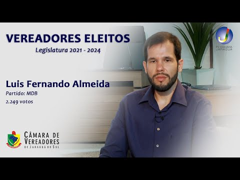 LUÍS FERNANDO ALMEIDA - VEREADOR ELEITO