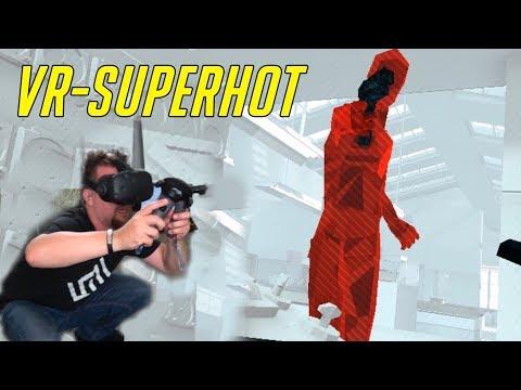 SLÅR DATORN I GOLVET | VR - HTC VIVE | SUPERHOT