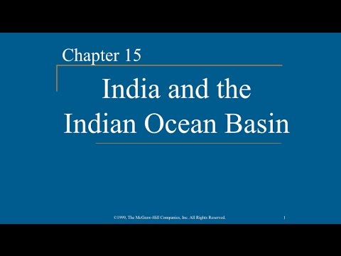 AP World History - Ch. 15 - India & The Indian Ocean Basin