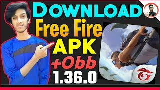 Gambar cover How To Download Free Fire Apk + Obb || free fire new update 2019 hindi || free fire apk obb
