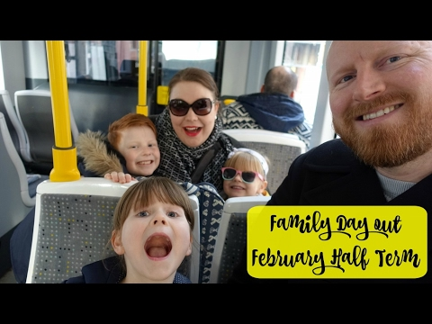Family Day out - February Half Term (trams, the theatre and Jamie Oliver treats)