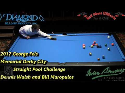 Chris Melling 225 ball run in Straight Pool