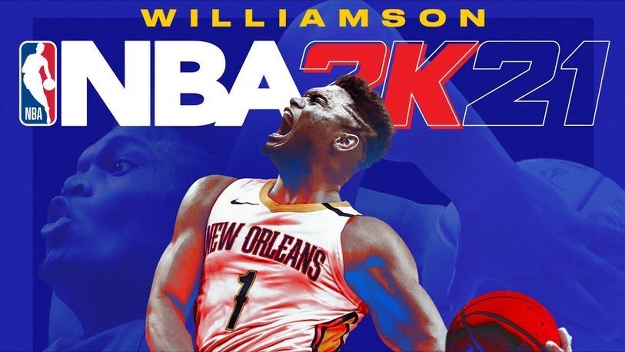 nba 2k21 cover athlete zion williamson trailer