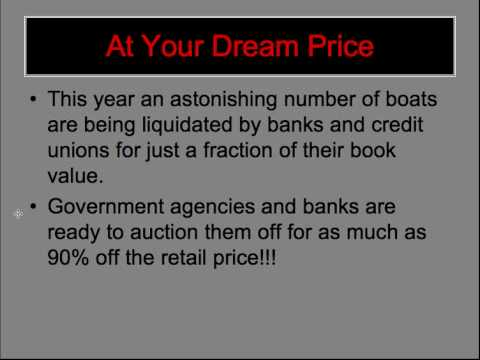 Government Boat Auction - Fishing and Sailing Boats at 95% Off