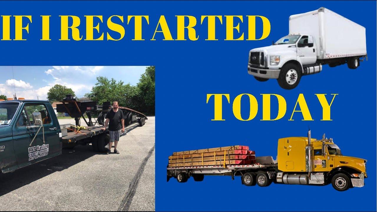 How to start a trucking company!! #boxtruck #hotshot #semitruck How much money.