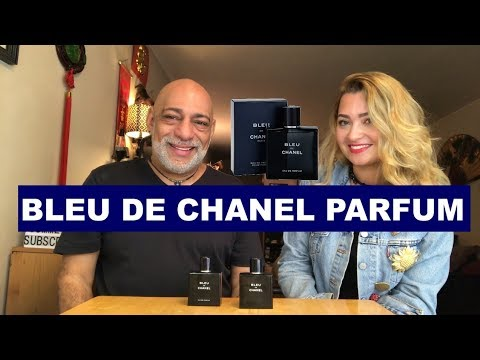 Bleu de Chanel Parfum REVIEW vs EdT with Olya + GIVEAWAY (CLOSED)