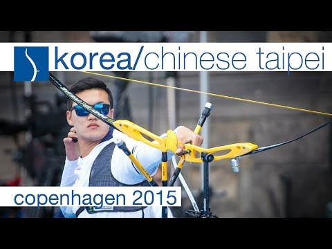 Korea v Chinese Taipei – Recurve Mixed Team Gold Final | Copenhagen 2015