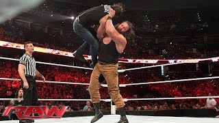Dean Ambrose vs. Braun Strowman: Raw, Aug. 31, 2015