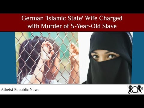 German 'Islamic State' Wife Charged with Murder of 5-Year-Old Slave 😡 thumbnail