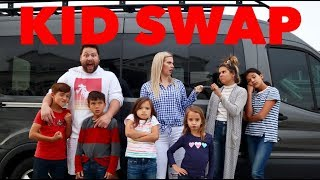 We traded our QUADRUPLETS for SIX kids! KID SWAP