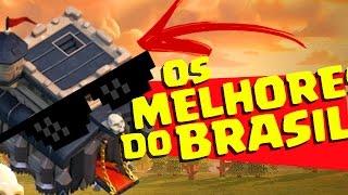 CONHEÇA OS MELHORES CV9 DO BRASIL E TALVEZ DO MUNDO! CLASH OF CLANS