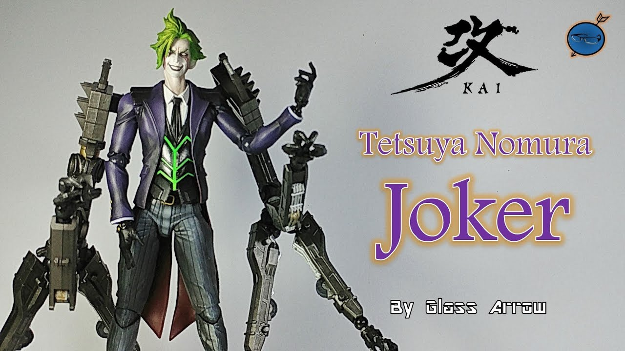 Rogues Gallery Joker Action Figure Toy No Box New Play Arts Kai Batman
