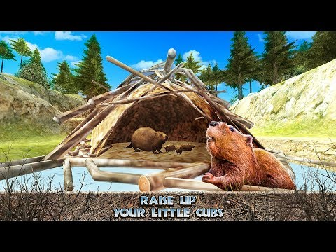 Beaver Simulator 3D - Animal Quest Game Gameplay Video Android/iOS