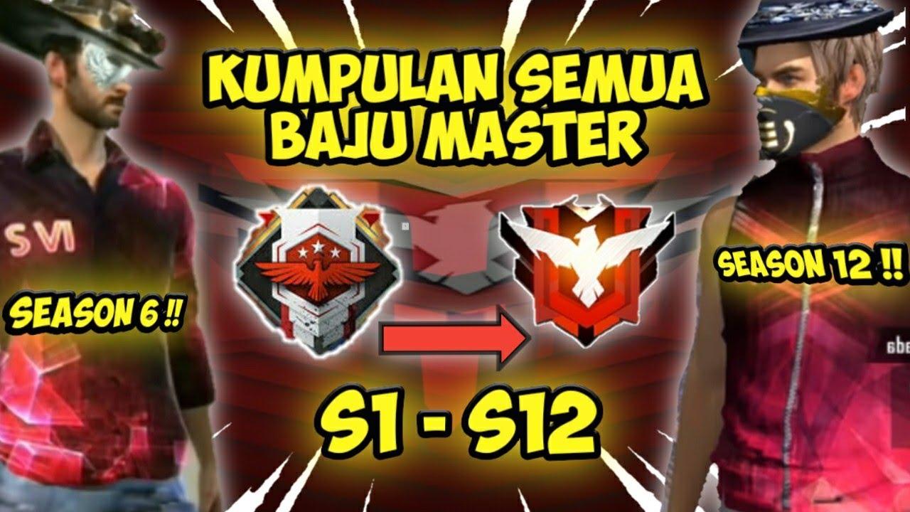 All T Shirts Master Heroic Season 1 Season 12 Kumpulan Semua Baju Master S1 Ogiv Free Fire Youtube