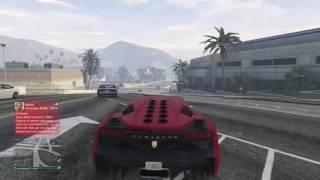 DUMP TRUCK vs TRAIN last zentorno clip GTA V