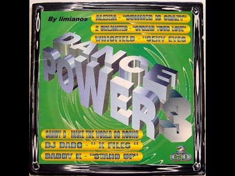 Dance Power 3 Megamix 1996 By Vidisco PT