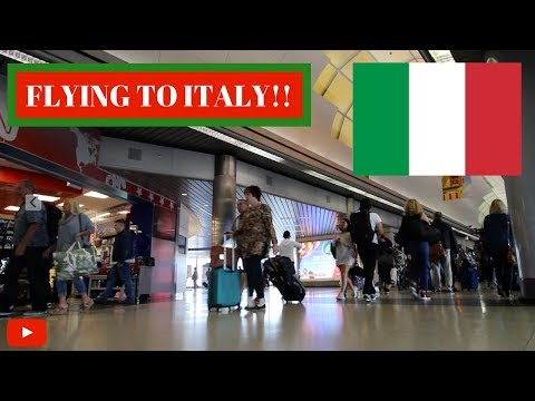 Traveling to Rome, Italy!! | My European Adventure | Airport Vlog #5