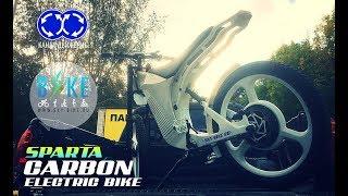 Карбоновый электровелосипед SPARTA / Carbon electric bike