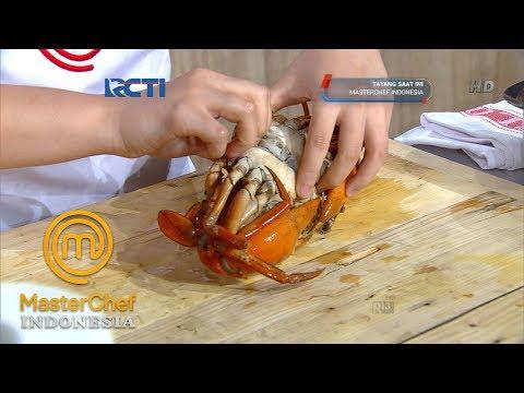 MASTERCHEF INDONESIA - Keseruan Para Kontestan Mengupas Cangkang Kepiting   Bootcamp   Part 6