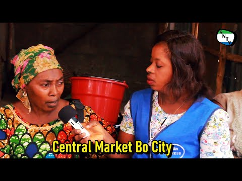 Central Market Bo City - Sierra Leone Provincial District To