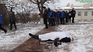 [18+] Civilian Casualties of Jan 25, 2017 in Lugansk, Ukraine War.