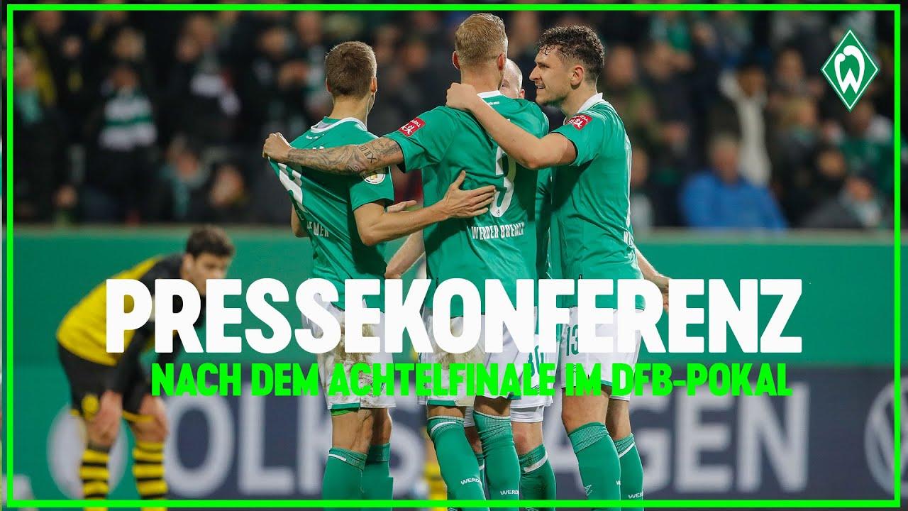 DFB-Pokal Werder Bremen - Borussia Dortmund 3:2 | Pressekonferenz zum Spiel