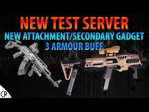 New Attachments & 3 Armour Buff - New Test Server - 6News - Tom Clancy's Rainbow Six Siege - R6