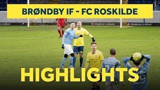 Alle mål fra træningskampen mod FC Roskilde   brondby.com