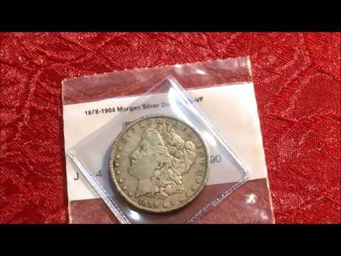 RARE & VALUABLE 1889 MORGAN SILVER DOLLAR WORTH MONEY  FROM APMEX
