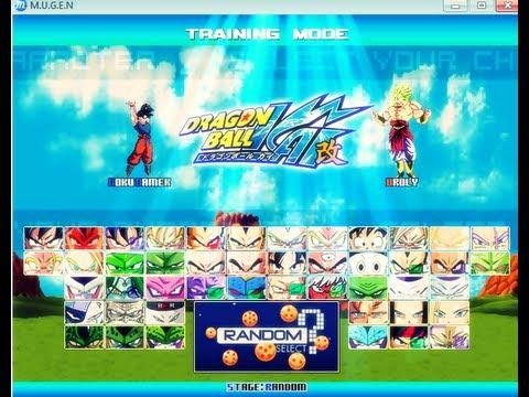 Mugen Dragon Ball Z Kai Download Youtube