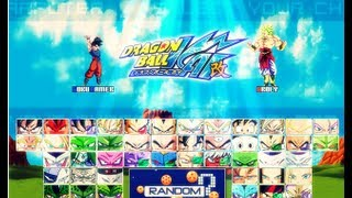 MUGEN - DRAGON BALL Z KAI [DOWNLOAD]