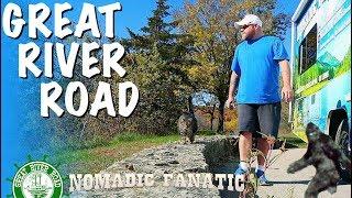 Big Boot, Skis, Bigfoot & River Camping Wisconsin