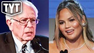 Chrissy Teigen Goes After Bernie Sanders