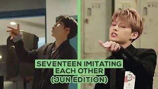 Seventeen Imitating Each Other (Jun Edition)
