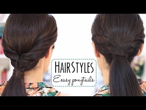 easy ponytails