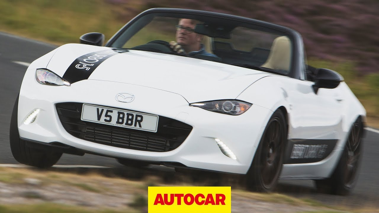 BBR Mazda MX-5 2018 review | Turbo kit for 1.5 Miata driven | Autocar