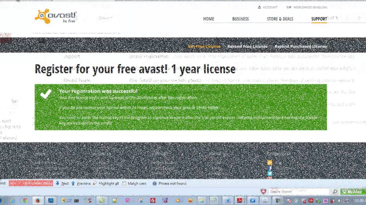 Avast Internet Security 2013! 1 Year license key(Free Avast Antivirus)