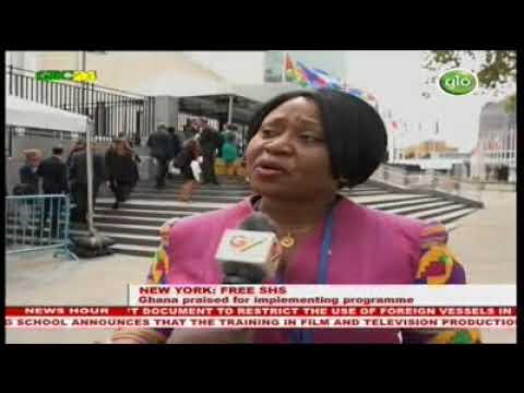 New York: Ghana praised for implementing Free SHS Programme