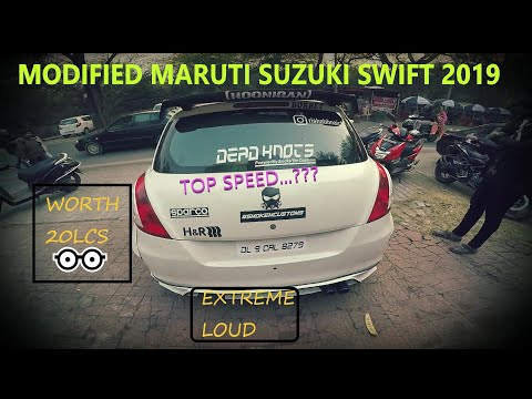 Worlds First Swift Worth Rs 20Lcs | Modified Car | Experience | Extreme Loud