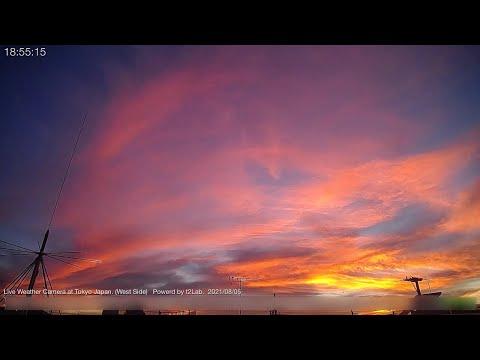空観察用定点ライブカメラ(東京都大田区/西方向)Fixed point sky observation live camera. (Ota-ku,Tokyo Japan/West direction)