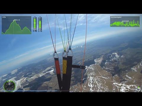 Paragliding Wasserkuppe - Aufdrehen Westhang