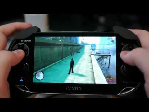 Playstation Vita Grand Theft Auto 4 Gameplay - YouTube