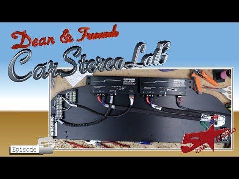 AudioControls amps car in Fernando's Car.  Car Stereo Lab 5