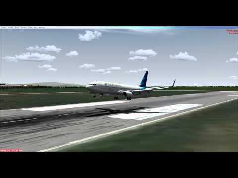 FSX Delta Airbus A330 Smooth Landing Washington Dulles int | FunnyCat TV
